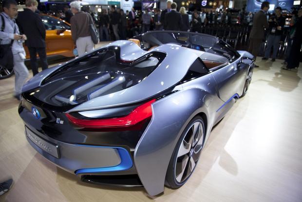 Auto Trader Los Angeles >> BMW i8 Spyder Concept: LA Auto Show - Autotrader