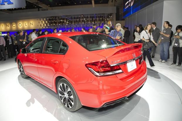 2013 Honda Civic: LA Auto Show featured image large thumb1