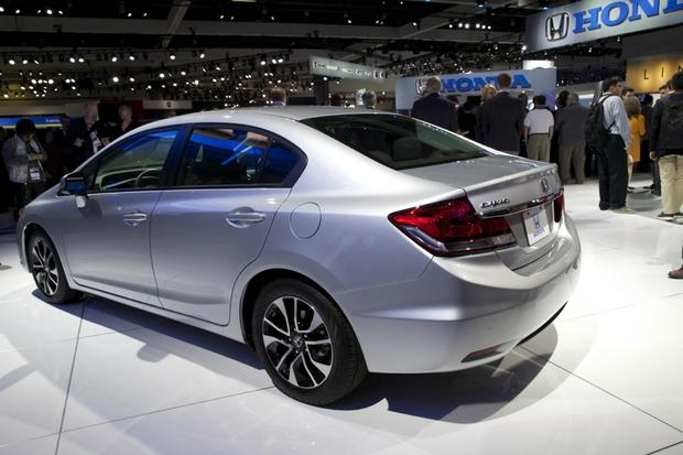 2013 Honda Civic: LA Auto Show featured image large thumb7
