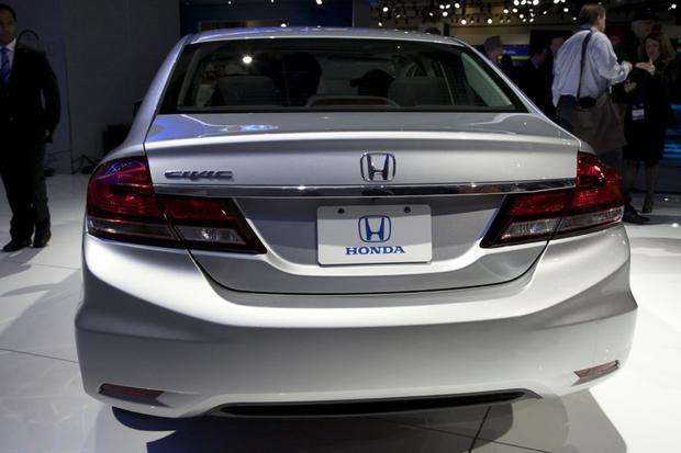 2013 Honda Civic: LA Auto Show featured image large thumb8