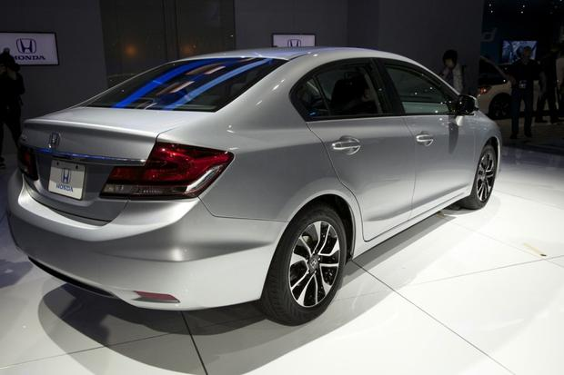 2013 Honda Civic: LA Auto Show featured image large thumb9