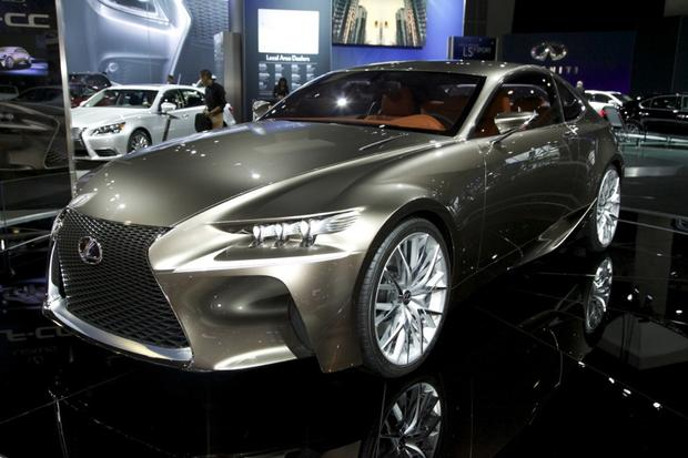 2013 Lexus LS: LA Auto Show featured image large thumb6