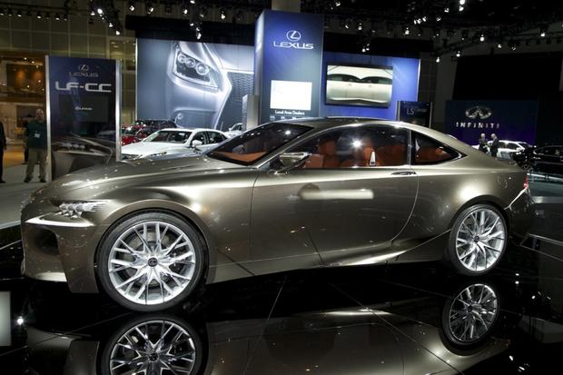 2013 Lexus LS: LA Auto Show featured image large thumb7