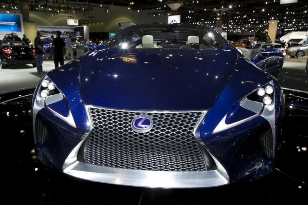 2013 Lexus LS: LA Auto Show featured image large thumb14