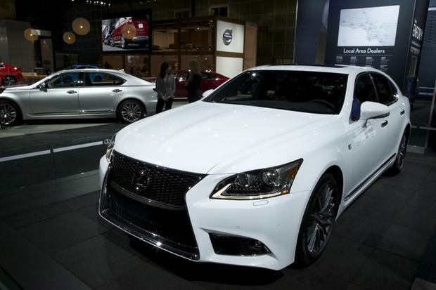 2013 Lexus LS: LA Auto Show featured image large thumb0