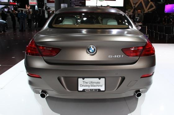 2013 BMW 6 Series GranCoupe: New York Auto Show featured image large thumb1