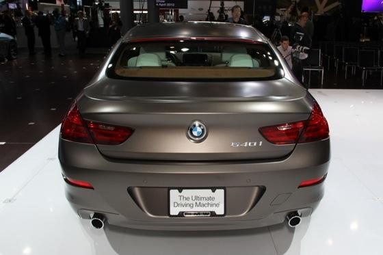 2013 BMW 6 Series GranCoupe: New York Auto Show featured image large thumb2