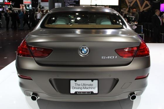 2013 BMW 6 Series GranCoupe: New York Auto Show featured image large thumb3