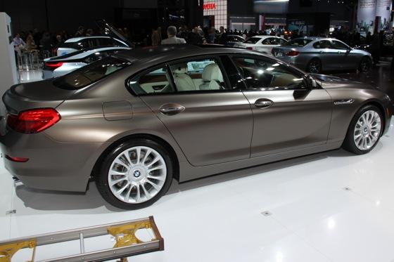 2013 BMW 6 Series GranCoupe: New York Auto Show featured image large thumb4
