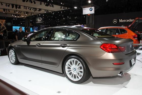 2013 BMW 6 Series GranCoupe: New York Auto Show featured image large thumb5