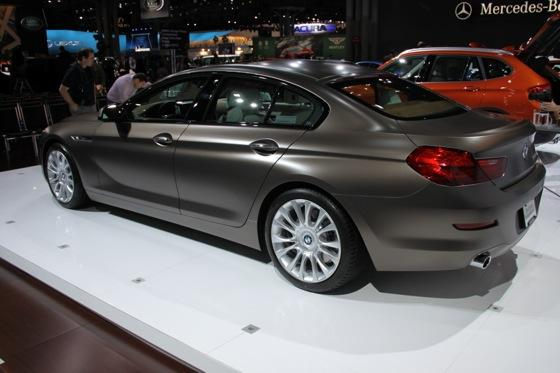 2013 BMW 6 Series GranCoupe: New York Auto Show featured image large thumb6