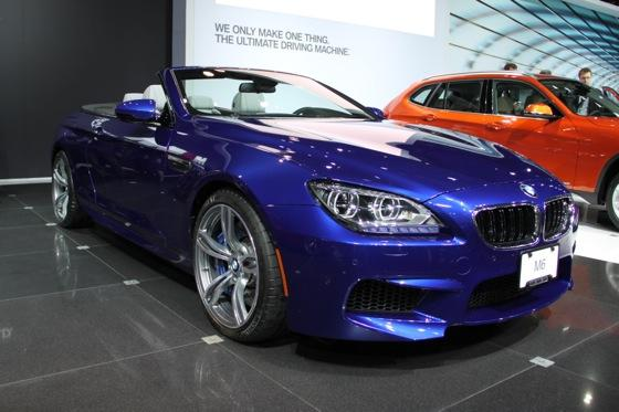 2012 BMW M6 Convertible: New York Auto Show featured image large thumb0
