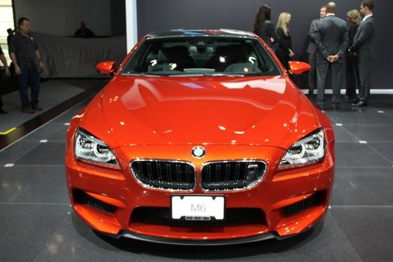 2013 BMW M6 Coupe: New York Auto Show featured image large thumb4