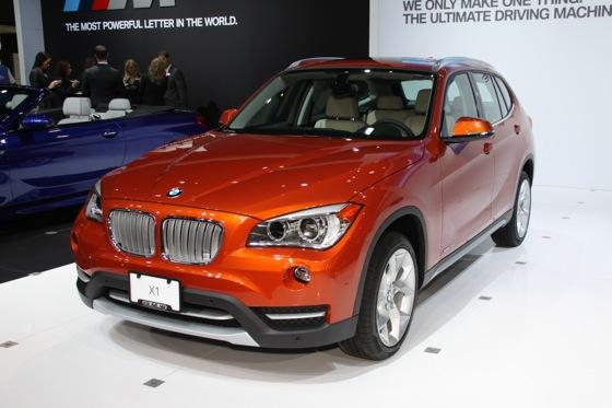 2013 BMW X1: New York Auto Show featured image large thumb0