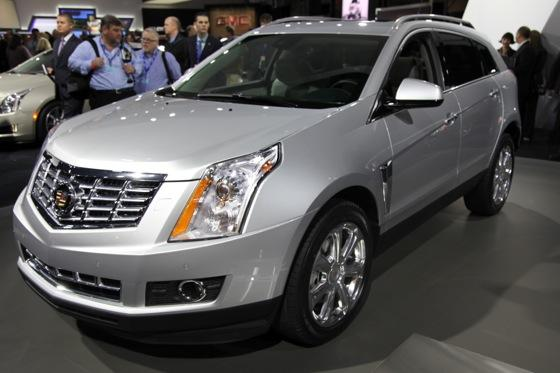 2013 Cadillac SRX: New York Auto Show featured image large thumb0