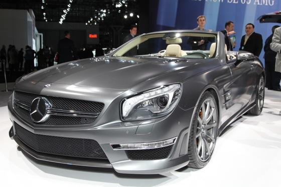 2013 Mercedes SL65 AMG: New York Auto Show featured image large thumb1