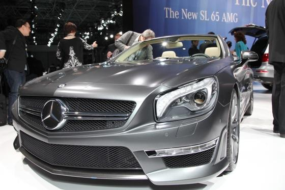 2013 Mercedes SL65 AMG: New York Auto Show featured image large thumb2