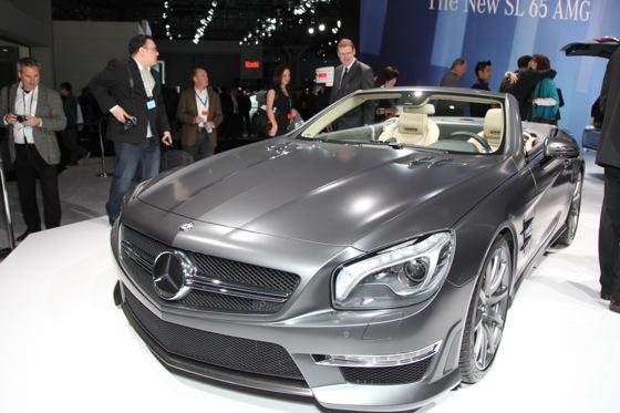 2013 Mercedes SL65 AMG: New York Auto Show featured image large thumb3