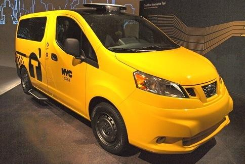 2013 Nissan NV Taxi: New York Auto Show featured image large thumb1