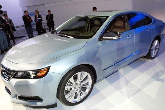 2014 Chevrolet Impala: New York Auto Show featured image large thumb0