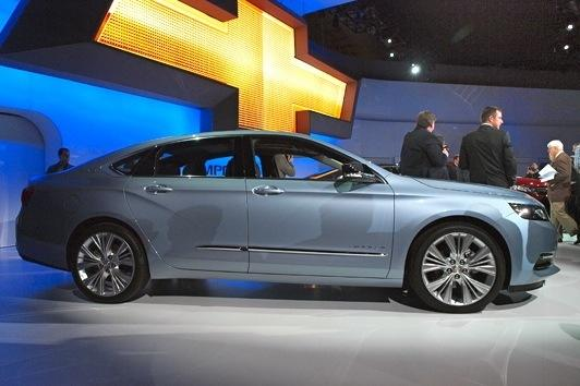 2014 Chevrolet Impala: New York Auto Show featured image large thumb1