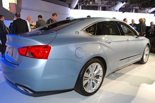 2014 Chevrolet Impala: New York Auto Show featured image large thumb4