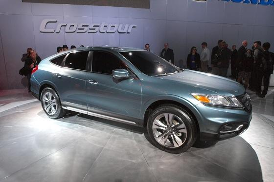 2013 Honda Crosstour Concept: New York Auto Show featured image large thumb4
