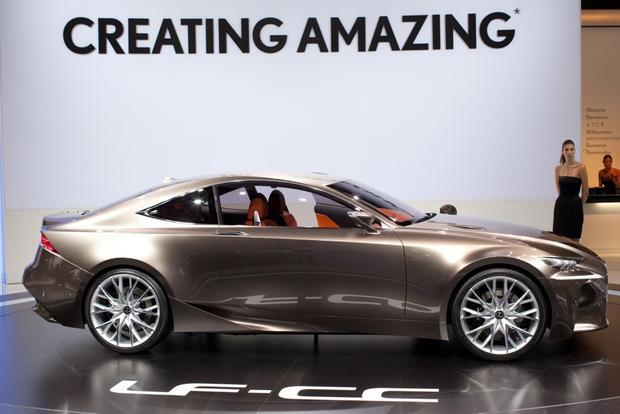 Lexus LF-CC Concept: 2012 Paris Auto Show featured image large thumb1