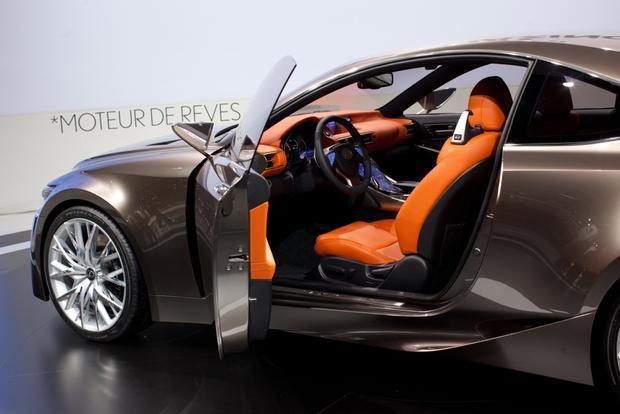 Lexus LF-CC Concept: 2012 Paris Auto Show featured image large thumb5