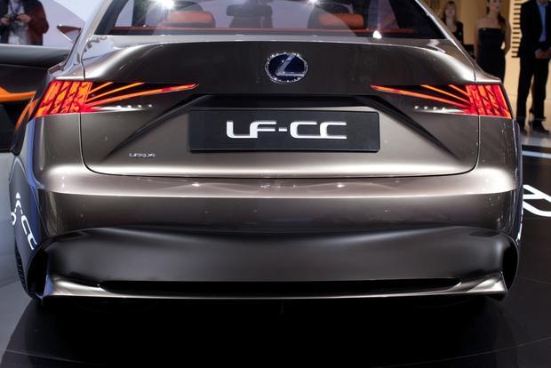 Lexus LF-CC Concept: 2012 Paris Auto Show featured image large thumb7