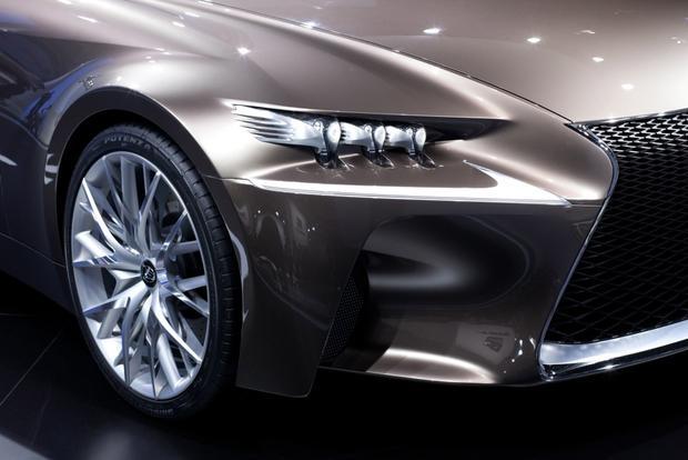 Lexus LF-CC Concept: 2012 Paris Auto Show featured image large thumb8