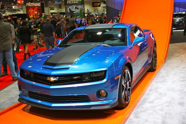 2013 Chevy Camaro Hot Wheels: SEMA Auto Show featured image large thumb3