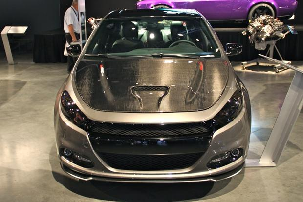 2013 Dodge Dart Carbon Fire: SEMA Auto Show featured image large thumb1