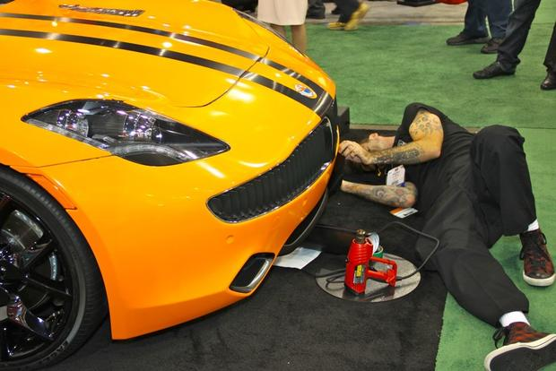 2013 Fisker Karma: SEMA Auto Show featured image large thumb10