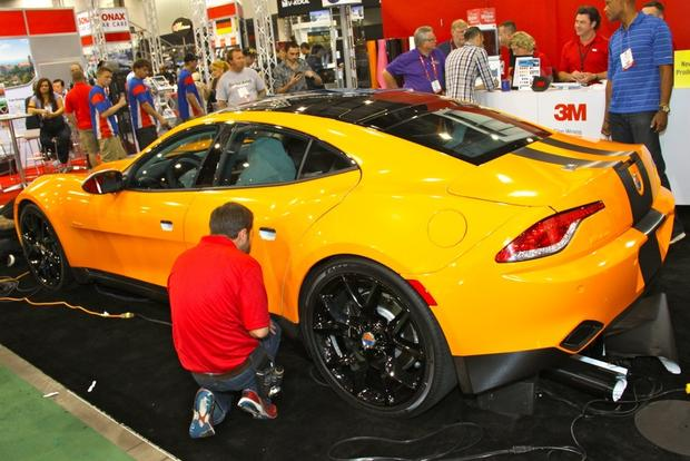 2013 Fisker Karma: SEMA Auto Show featured image large thumb13