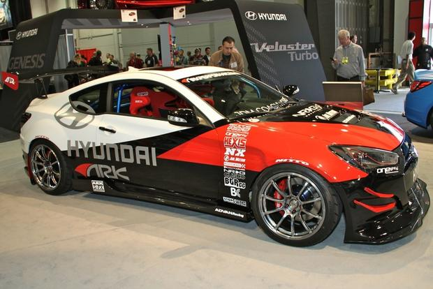 2013 Genesis Coupe R-Spec: SEMA Auto Show featured image large thumb0