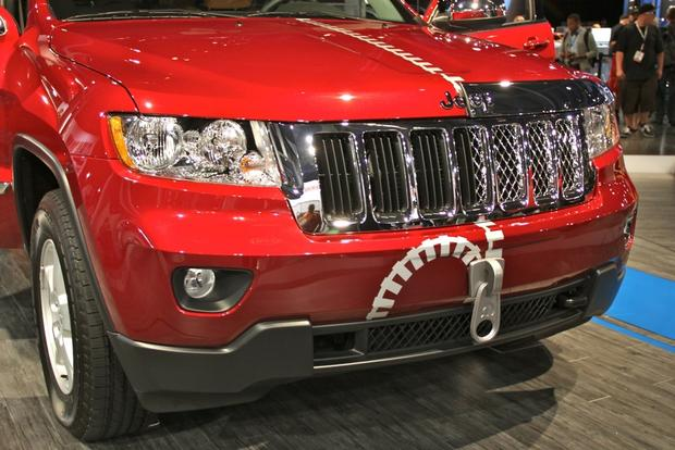 2013 Jeep Grand Cherokee Half & Half: SEMA Auto Show featured image large thumb2