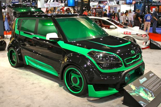 2013 Kia Super Hero Cars: SEMA Auto Show