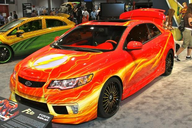 Kia Superhero Cars: SEMA Auto Show featured image large thumb10