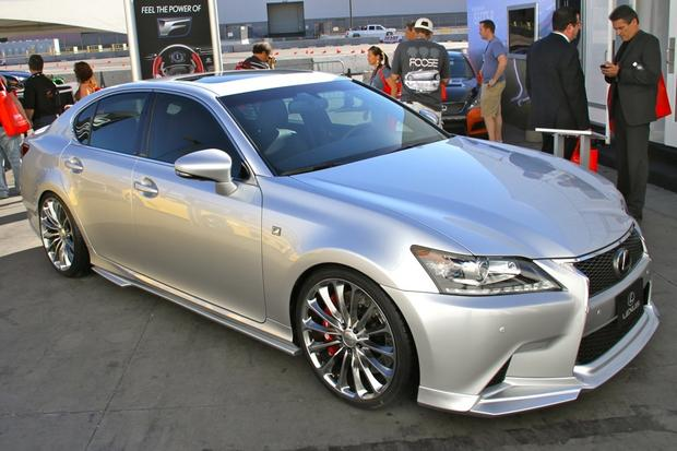2013 Lexus Project F Sport LS and GS: SEMA Auto Show