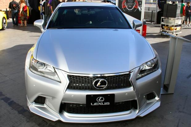 2013 Lexus Project F Sport LS and GS: SEMA Auto Show featured image large thumb2