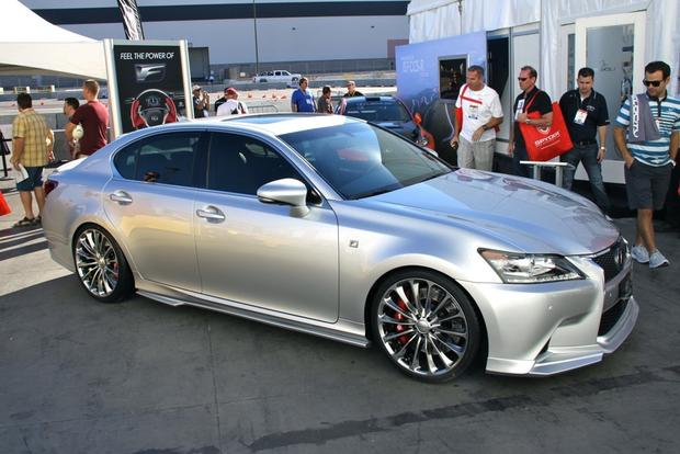 2013 Lexus Project F Sport LS and GS: SEMA Auto Show featured image large thumb12