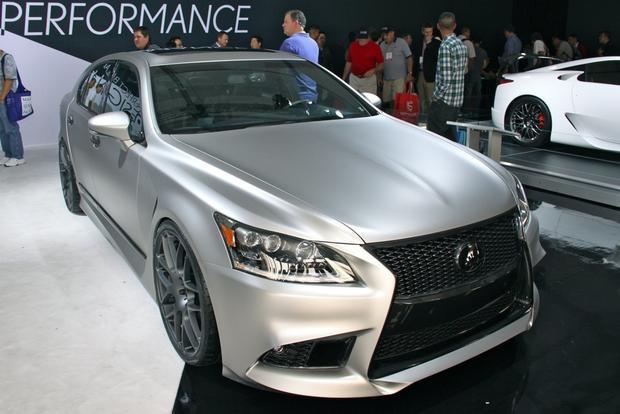 2013 Lexus Project F Sport LS and GS: SEMA Auto Show featured image large thumb17