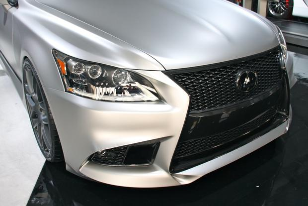 2013 Lexus Project F Sport LS and GS: SEMA Auto Show featured image large thumb18
