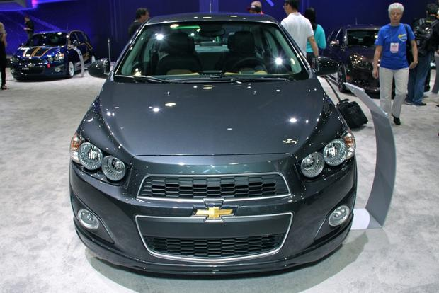 2013 Chevy Sonic Dust: SEMA Auto Show featured image large thumb1
