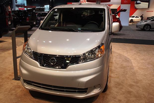 2013 nissan nv200 chicago auto show autotrader. Black Bedroom Furniture Sets. Home Design Ideas