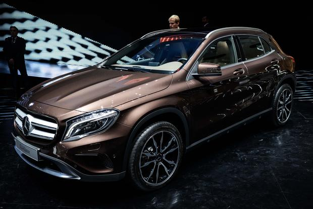 2015 Mercedes-Benz GLA-Class: Frankfurt Auto Show featured image large thumb0