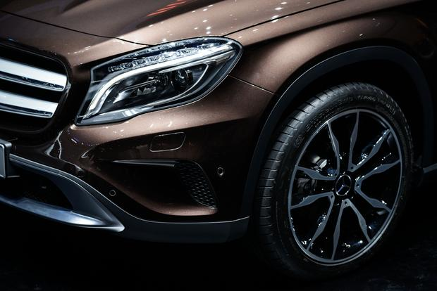 2015 Mercedes-Benz GLA-Class: Frankfurt Auto Show featured image large thumb3