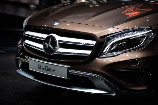 2015 Mercedes-Benz GLA-Class: Frankfurt Auto Show featured image large thumb4