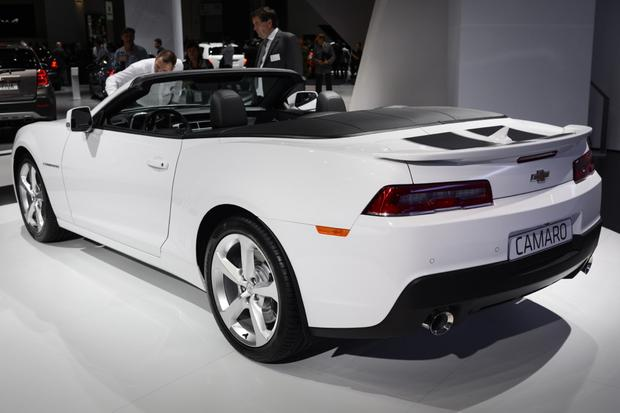 2014 Chevrolet Camaro Convertible: Frankfurt Auto Show featured image large thumb1